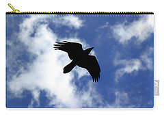 Black Above Carry-all Pouch