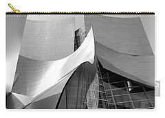 Black And White Curves Carry-all Pouch