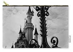Black And White Fairy Tale Carry-all Pouch