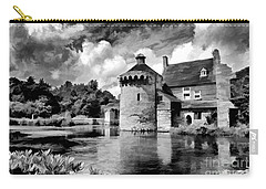 Scotney Castle In Mono Carry-all Pouch