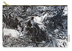 Black And White Series 3 Carry-all Pouch