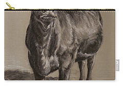 Black Angus Cow 1 Carry-all Pouch