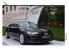 Black Audi A6 Classic Saloon Car Carry-all Pouch