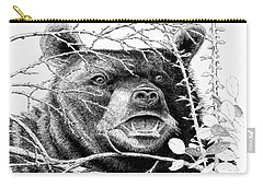 Black Bear Boar Carry-all Pouch