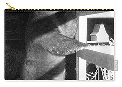 Carry-all Pouch featuring the photograph Black Bear by Mim White