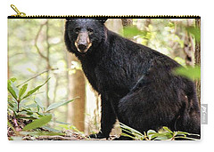 Black Bear Smile Carry-all Pouch