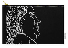 Black Book 15 Nude Carry-all Pouch by Rand Swift