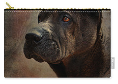 Black Chinese Shar-pei Carry-all Pouch