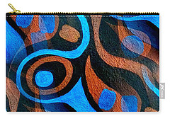 Black Coffee Abstract Carry-all Pouch