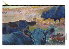 Black Cows On Dartmoor Carry-all Pouch