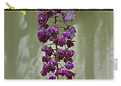 Black Dragon Wisteria Carry-all Pouch by Suzanne Stout