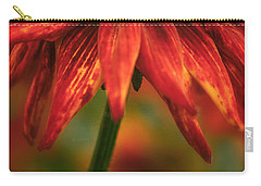 Black-eyed Susan Carry-all Pouch by Jacqui Boonstra