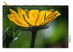 Black Eyed Susan Carry-all Pouch by Sharon Elliott