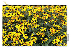 Black Eyed Susans Carry-all Pouch by Lena Auxier