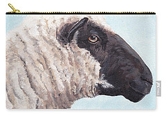 Black Face Sheep Carry-all Pouch
