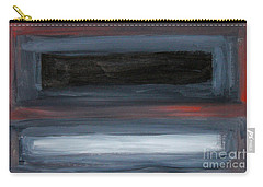 Black Gray Red After Rothko Carry-all Pouch