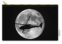 Black Hawk Moon Carry-all Pouch by Al Powell Photography USA