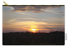 Carry-all Pouch featuring the photograph Black Hills Sunset IIi by Cathy Anderson