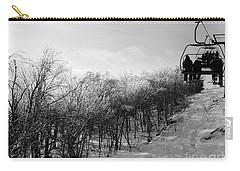 Black Ice Carry-all Pouch by Barbara Bardzik
