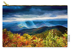 Black Mountains Overlook On The Blue Ridge Parkway Carry-all Pouch