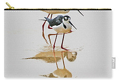 Black Neck Stilts Togeather Carry-all Pouch