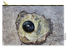 Carry-all Pouch featuring the photograph Black Pearl by Sergey Lukashin