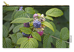 Black Raspberry Carry-all Pouch by Venetia Featherstone-Witty
