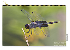 Carry-all Pouch featuring the photograph Black Saddlebags by Bryan Keil