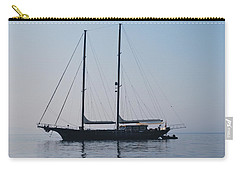Black Ship 1 Carry-all Pouch by George Katechis