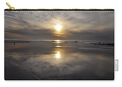 Black Sunset Carry-all Pouch by Gandz Photography
