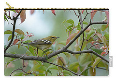 Blackpoll Warbler In The Fall Carry-all Pouch