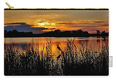 Blackwater Morning Carry-all Pouch by Robert Geary
