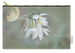 Carry-all Pouch featuring the photograph Blanche by Elaine Teague