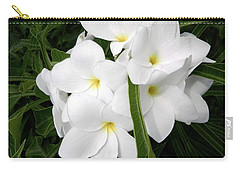 Blanco Boquet Carry-all Pouch by Amar Sheow