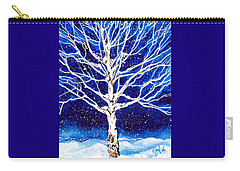 Blanket Of Stillness Carry-all Pouch