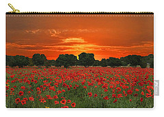 Blaze Of Glory Carry-all Pouch by Lynn Bauer