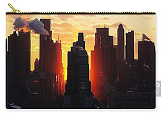 Blazing Morning Sun Carry-all Pouch