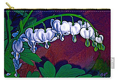 Bleeding Heart 1 Carry-all Pouch by Pamela Cooper