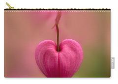 Bleeding Heart Flower Carry-all Pouch