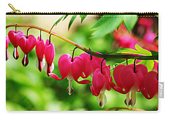 Romantic Bleeding Hearts Carry-all Pouch