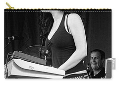 Carry-all Pouch featuring the photograph Bleeding Through's Marta Peterson by Mike Martin