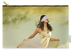 Blind Faith Carry-all Pouch by Linda Lees