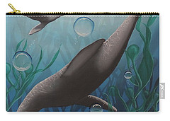 Carry-all Pouch featuring the painting Bliss by Dianna Lewis