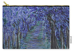 Blissful Walk Through Purple Carry-all Pouch
