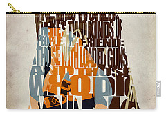 Blondie Poster From The Good The Bad And The Ugly Carry-all Pouch