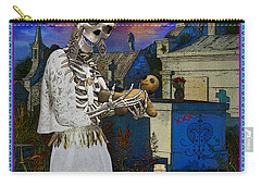 Bloody Marie Laveau Carry-all Pouch by Tammy Wetzel
