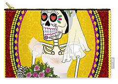 Bloody Married Carry-all Pouch by Tammy Wetzel