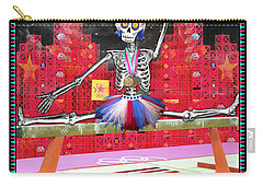 Bloody Mary Lou Retton Carry-all Pouch by Tammy Wetzel