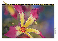 Bloomin Hong Kong Orchid Carry-all Pouch