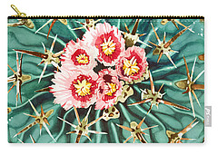 Bloomin' Horse Crippler Cactus Carry-all Pouch